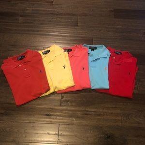 Polo by Ralph Lauren 5 Shirt Bundle